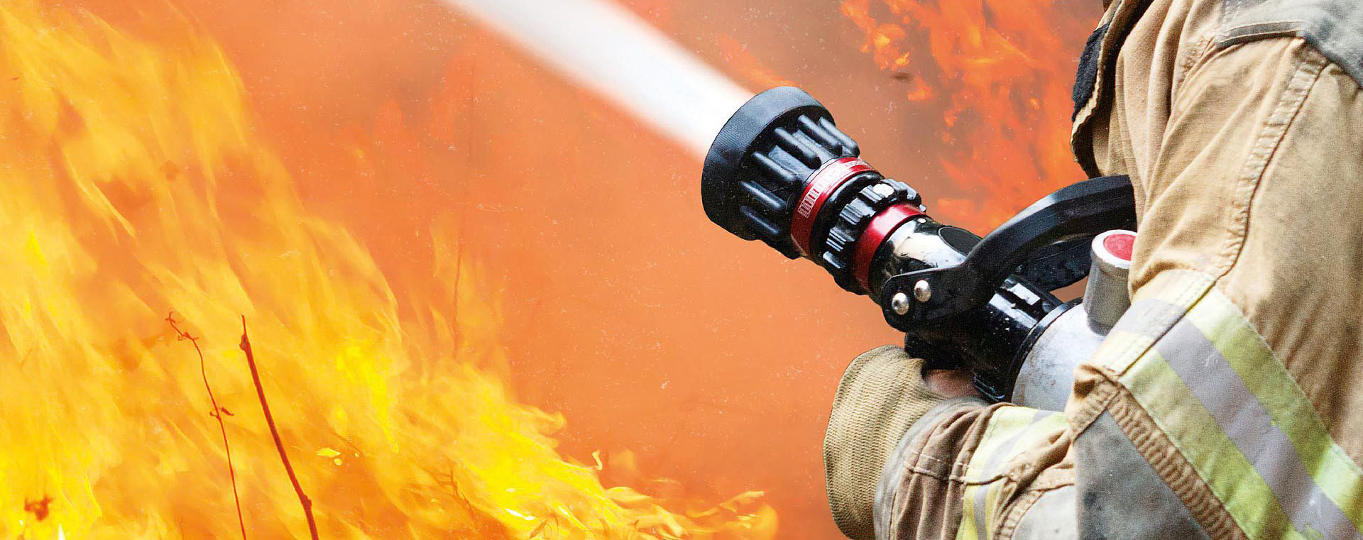 What are the precautions for fire hose wiring?