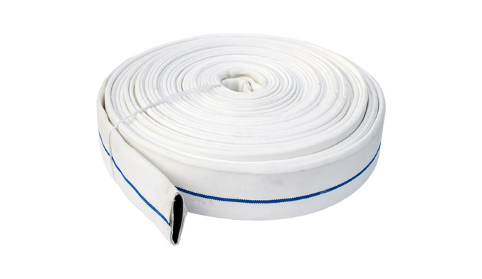 What are the precautions for using the fire hose interface?