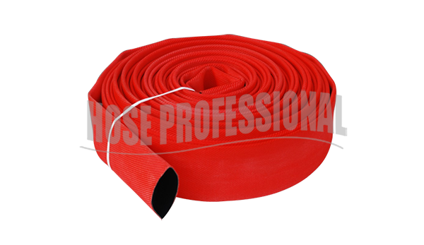 What should I pay attention to when the fire hose is bent?