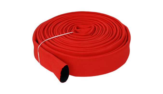 How to maintain the fire hose at low temperature?