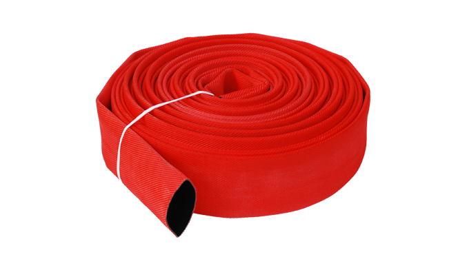 What is the basic structure of the five parts of the fire hose?
