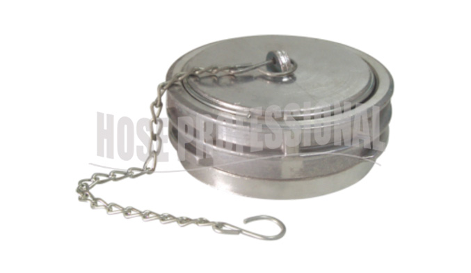 FRENCH COUPLING WITH CAP & CHAIN